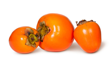 Three Whole Persimmons