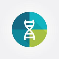 Dna, genetics - symbol 7