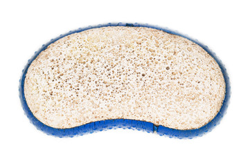 pumice on a white background