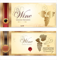 Wine banner
