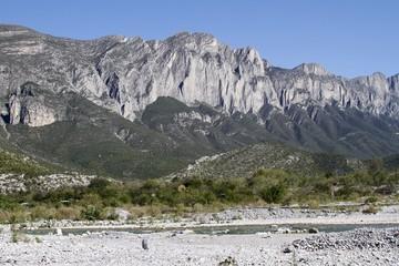 Rocky mountains - La Huasteca - Monterrey
