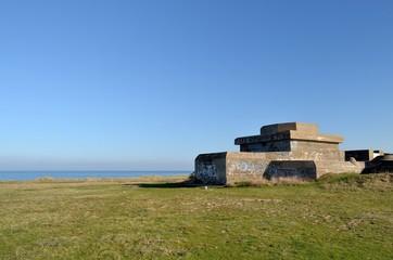 Bunker face à la mer
