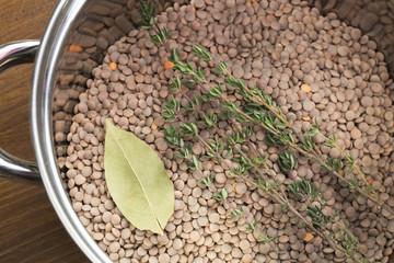 Preparing Lentils