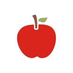 Icono manzana roja