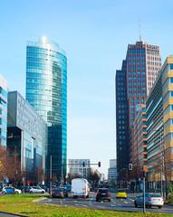 Berlin business downtown