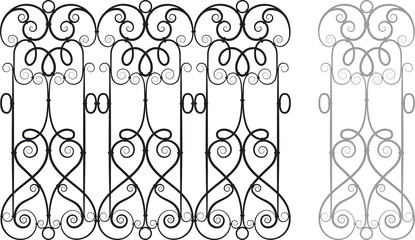 Fretwork Vector