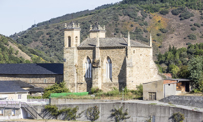 San Francisco Convent in Villafranca del Bierzo - Spain