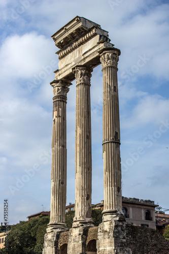 Tempio dei Dioscuri Foro Romano (Temple of Castor and Pollux) - 75515254