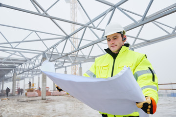 Construction builder worker