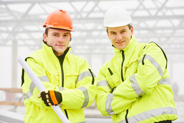 Construction builder workers