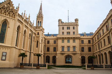 Chateau Lednice in southern Moravia