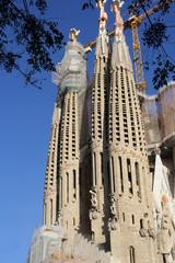 Sagrada Familia, designed by Antonio Gaudi