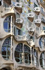Casa Batllo, designed by Antoni Gaudi