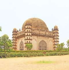 Gol gumbaz palace and  mausoleum bijapur Karnataka india