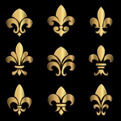 Gold Fleur De Lis