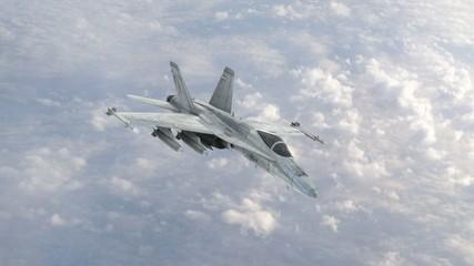 Fighter Jet - High Flight