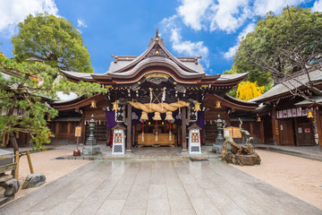 Tocho-ji temple or Fukuoka Giant Buddha temple in Fukuoka, Japan