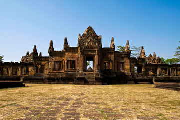 Maung Tam Castle historical park in Thailand