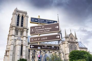 Sign and symbol in Paris