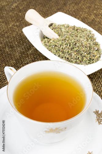 Cistus incanus tea and dried herb - 75526248