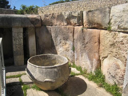 Leinwanddruck Bild Tarxien Temple and Museum