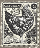 Vintage Poultry and Eggs Advertising Page Vector