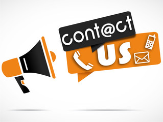 megaphone : contact us