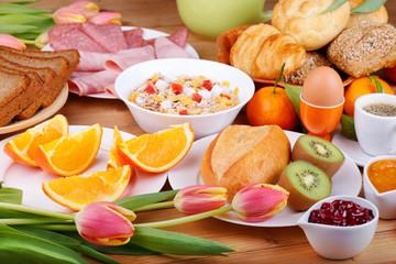 Vielseitiges Frühstück