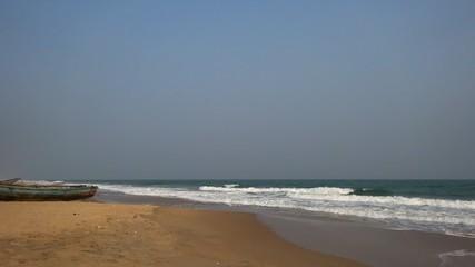Beautiful view of Kaviti Beach, Andhra Pradesh
