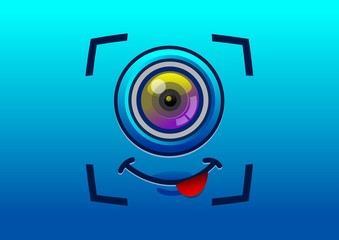camera selfies icon