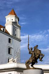 King Svatopluk Statue