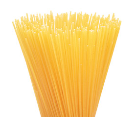 pasta on a white background