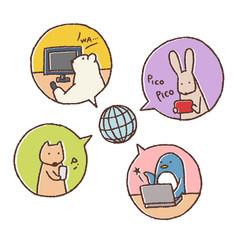 動物とインターネット
