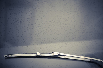 Vintage screen wiper