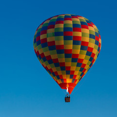 Balloon flying up