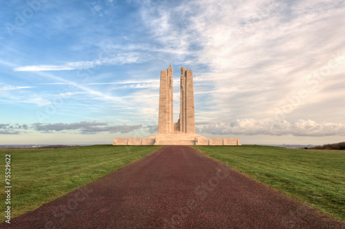 Foto op Canvas Bedehuis The Canadian National Vimy Ridge Memorial in France