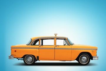 Retro car taxi