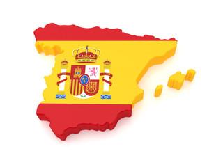 3D Spain Map