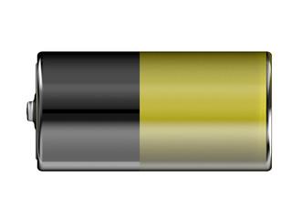 Battery level 50%