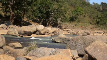 River Dumbravathi at Dumbriguda, Andhra Pradesh, India