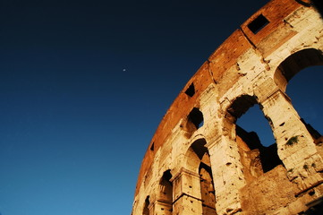 Il Colosseo a Roma