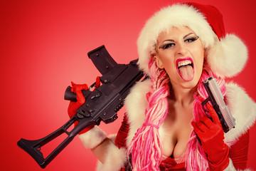 aggressive gun