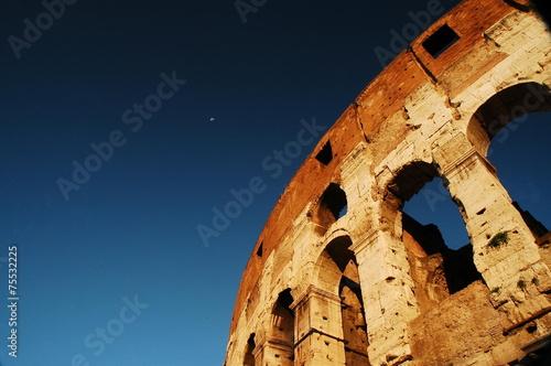 Fotobehang Rome Il Colosseo a Roma