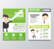 Business brochure/flyer design vector template