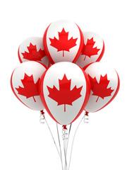 Canada Flag Balloons