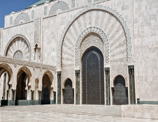 Casablanca King Hassan II Mosque