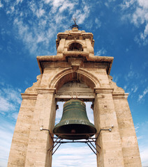 El Miguelete Tower in Valencia