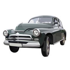 Soviet retro car