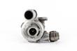 Leinwandbild Motiv the silver turbo of the combustion engine