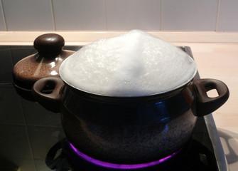 kochende Flüssigkeit